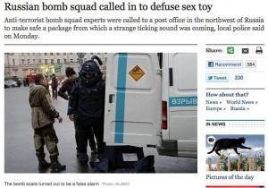 Russian Bomb Scare . . .