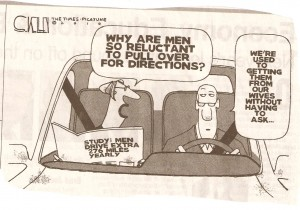 Why men don't need to ask for directions